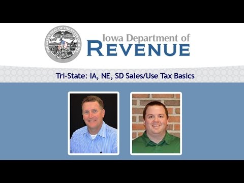 Tri-State: IA, NE, SD Sales/Use Tax Basics | Webinar, PowerPoint, Q&A