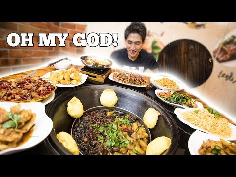 DongBei Food Challenge! Authentic DongBei Cuisine in Singapore!