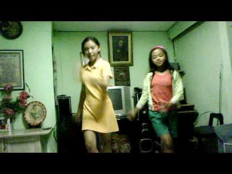 cha and sarah dancing sabay sabay tayo.!!