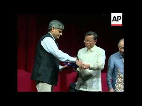Magsaysay awards, Asia's version of the Nobel Prize