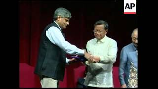 Magsaysay awards, Asia's version of the Nobel Prize