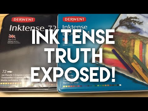 Inktense the hidden truth. Inktense claims finally tested.