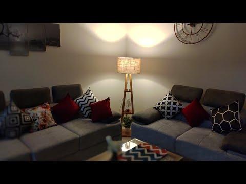 Unboxing And Installation Of Floor Lamp// Amazon Floor Lamp Look And Ambience