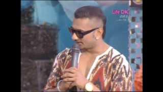 honey singh performance at life ok holi special 2014 part 2