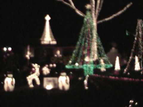 Lake Myra Christmas Lights - Wendell, NC - Show created by Don ...