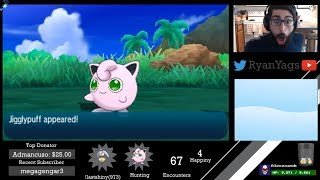 Shiny Jigglypuff via SOS in Pokemon Sun and Moon (don't miss this one!)