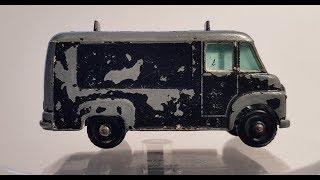 MATCHBOX Restoration No 62b Commer Rentaset Van 1963