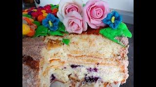 Бисквит классический простой рецепт/  Sponge Cake