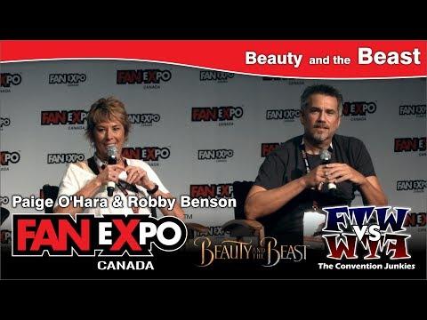Beauty and the Beast Paige O'Hara & Robby Benson  eXpo Canada 2017