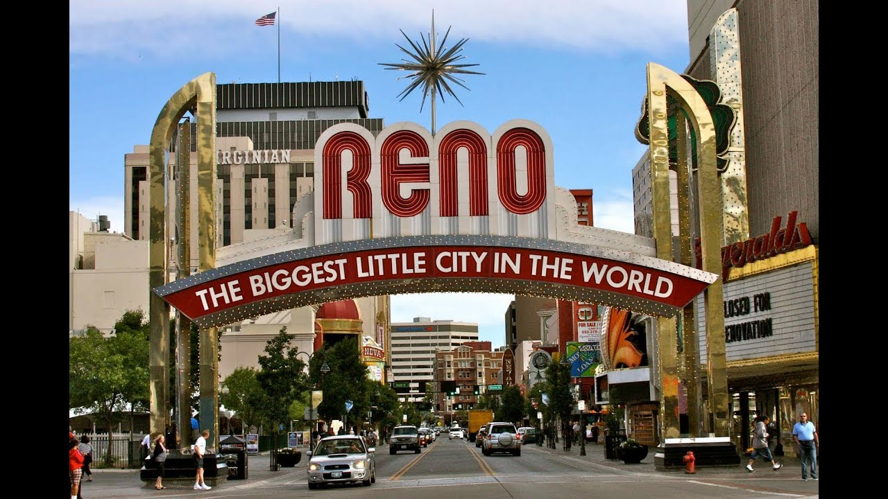 City Of Henderson Nv >> Reno, Nevada 1998 - YouTube