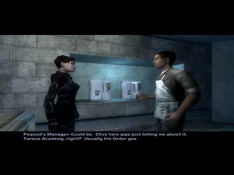 Deus Ex: Invisible War (2003) - Pequod's coffee shop (Upper Seattle) [4K 60FPS] |