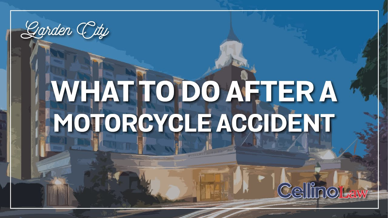Garden City Motorcycle Accident Lawyer Available 24 7