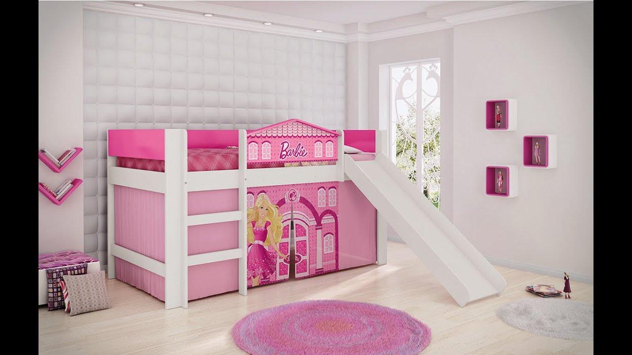 2c4768814f Cama Barbie Play com Escorregador - Pura Magia - YouTube