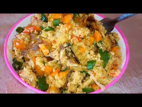Quick Stir Fry Vegetable Couscous Recipe: Simple Breakfast Idea