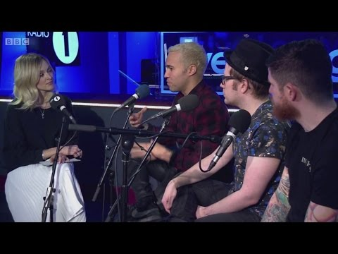 Fall Out Boy interview with Fearne Cotton (BBC Radio 1 Live Lounge)
