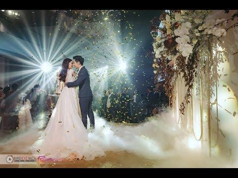 งานแต่งงานนักบินกับแอร์โฮสเตสทั้งหรูและมันส์ Rosewood Bangkok โรงแรมโรสวูด เพลินจิต