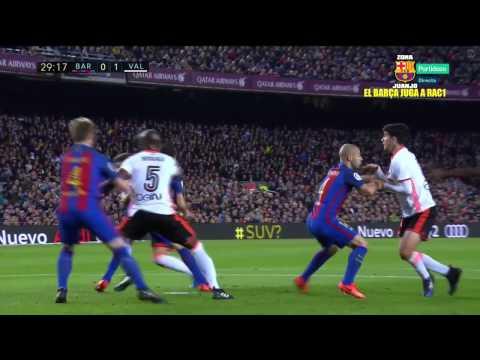 FC Barcelona vs Valencia [4-2][19/03/2017][La Liga - Jornada 28] EL BARÇA JUGA A RAC1