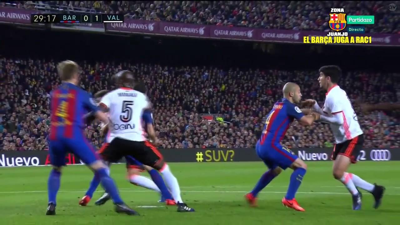 FC Barcelona vs Valencia 4-219/03/2017[La Liga ...