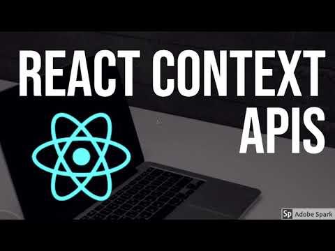 React Understanding Context APIs #63