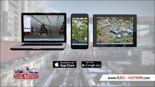 Rail Nation - Mobile App | Trailer EN
