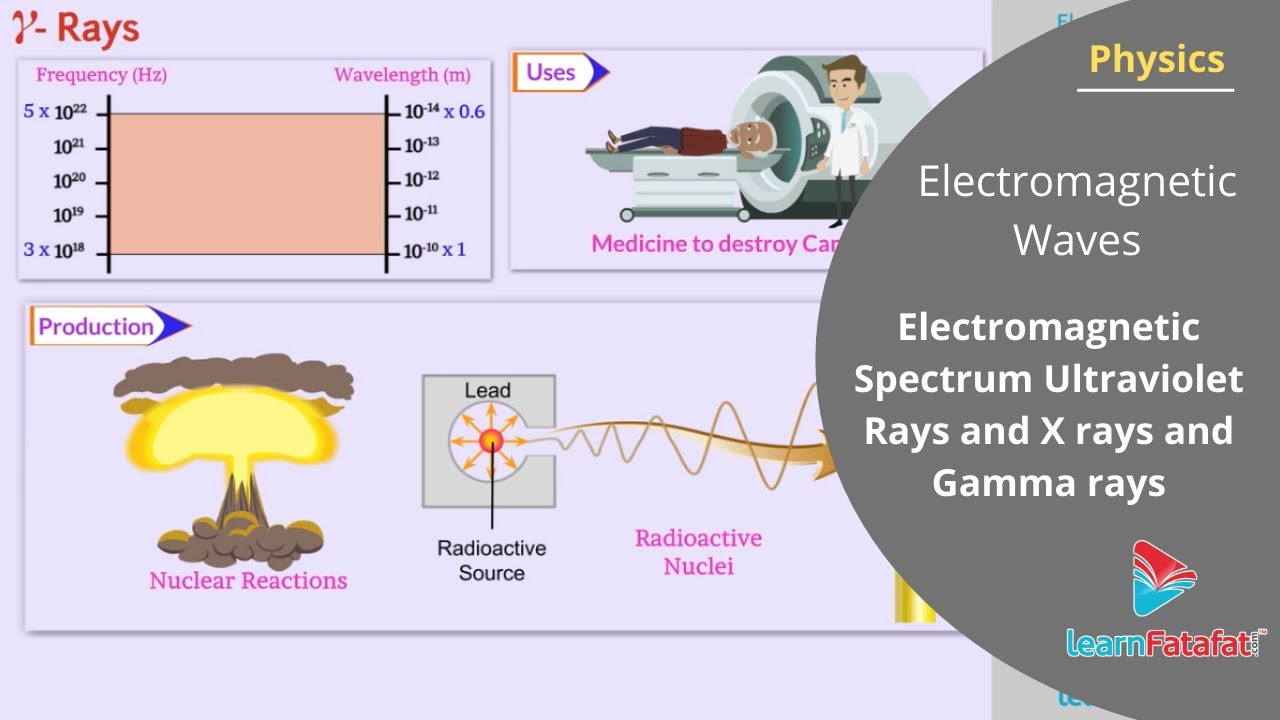 Electromagnetic Waves Class 12 Physics | Electromagnetic Spectrum
