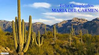 MariadelCarmen   Nature & Naturaleza - Happy Birthday