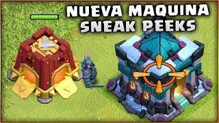 NUEVA MAQUINA de ASEDIO - EL CUARTEL 2º SNEAK PEEKS - CLASH of CLANS