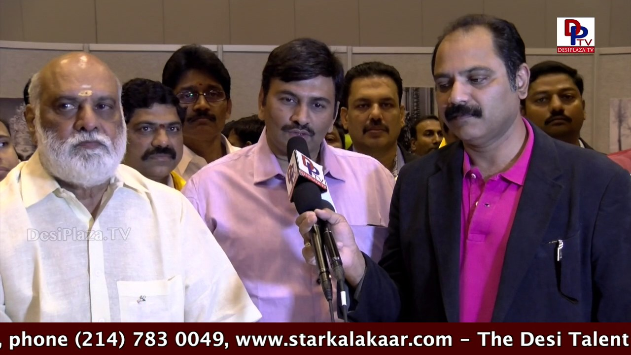 Media Bytes at NTR Birthday Celebrations at  TANA Conference - 2017 - St Louis