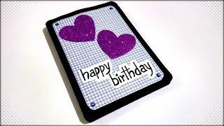Special Handmade Birthday card idea | 6 Layered  Birthday card idea | complete tutorial