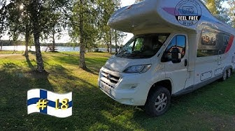 Wohlfühl-Campingplatz am See: Camping SYSMÄ - Finnland Wohnmobil Rundreise #18