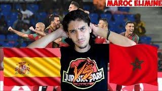ESPAGNE VS MAROC ! COUPE DU MONDE 2018