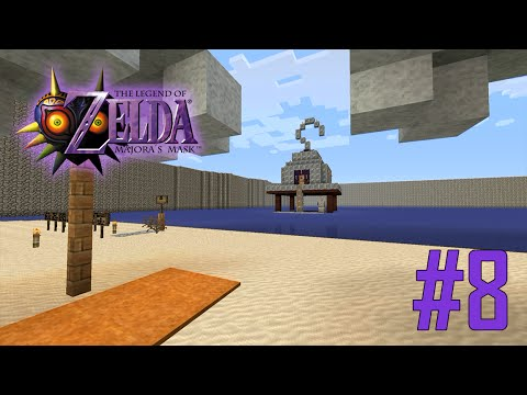 Majoras Mask Legend of Zelda Minecraft Adventure Map - Ep 8 w/Download