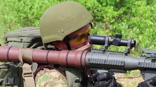 Нацгвардія України отримала ручні протитанкові гранатомети PSRL-1 виробництва США.