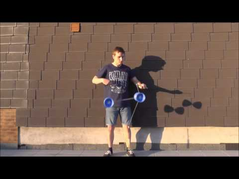 2 Diabolo Tricks - Tutorial (german)