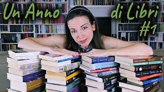 Un anno di libri #1 !!! Giga Wrap Up | Le mie letture di un anno intero #unannodilibri
