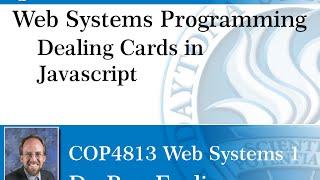 Web Programming - Javascript Dealing Cards