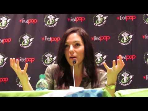 ANNA SILK (Succubus Bo from Lost Girl) - Canadian Girls Kick Ass! -  ECCC 2017 FULL Panel