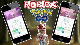 ROBLOX: Pokemon GO MEWTWO E NINETAILS