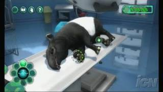 Zoo Hospital Nintendo Wii Gameplay - Pus Covered Owl