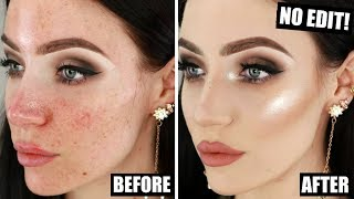FLAWLESS FOUNDATION ROUTINE for Night Time