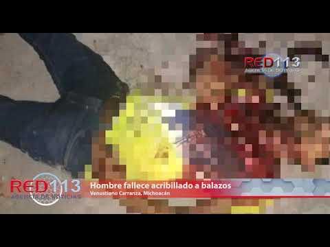 VIDEO Hombre fallece acribillado a balazos en Venustiano Carranza