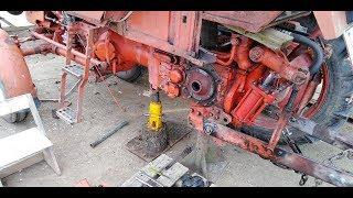 Ремонт трактора Т-25 [ снял бортовую ]  1 часть.