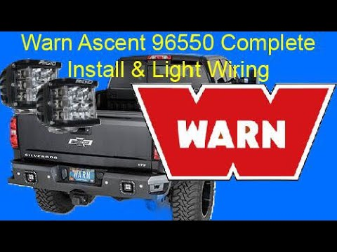 Warn Ascent 96550 Complete Install and Wiring - YouTube on