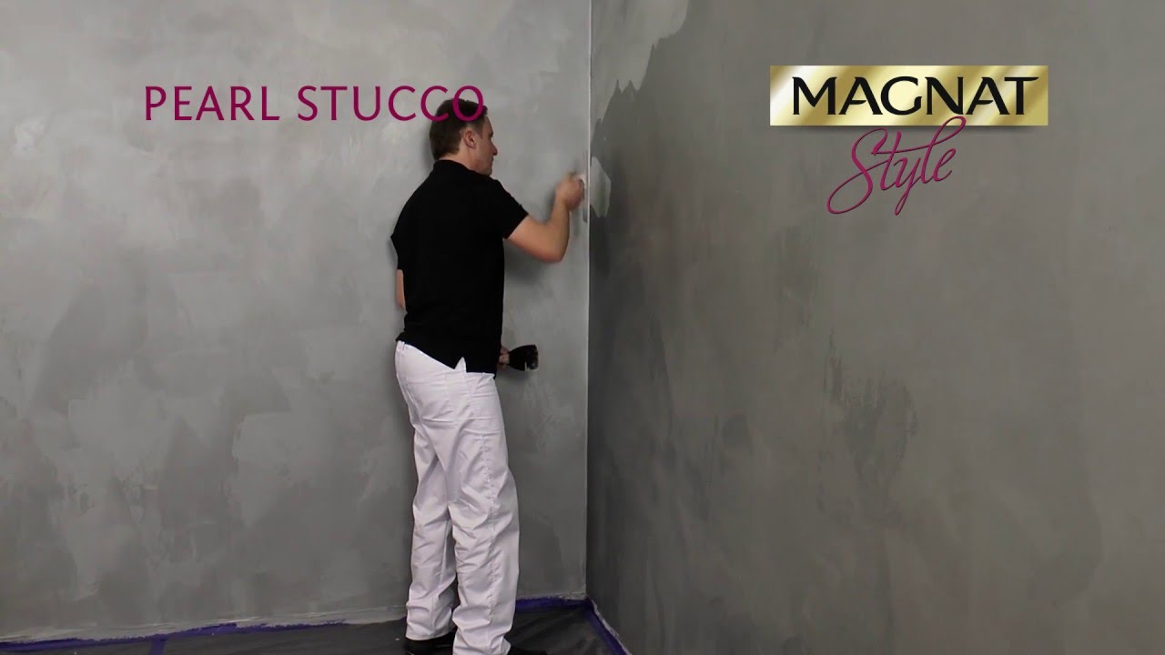 MAGNAT Style Pearl Stucco textured masonry paint YouTube