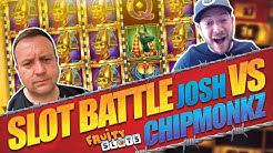 FRUITY SLOTS JOSH VS CHIPMONKZ! Online Slot Battle