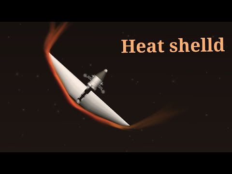 Heat shield    spaceflight simulator