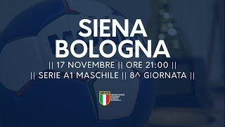 Serie A1M [8^]: Siena - Bologna 31-26