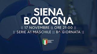 Serie A1M [8^]: Siena - Bologna