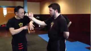 Sifu Chow - Single Hand Chi Sao application ( IWC)