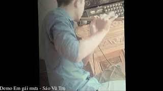 (Demo) Em Gái Mưa -  Sáo Vũ Trụ ✔